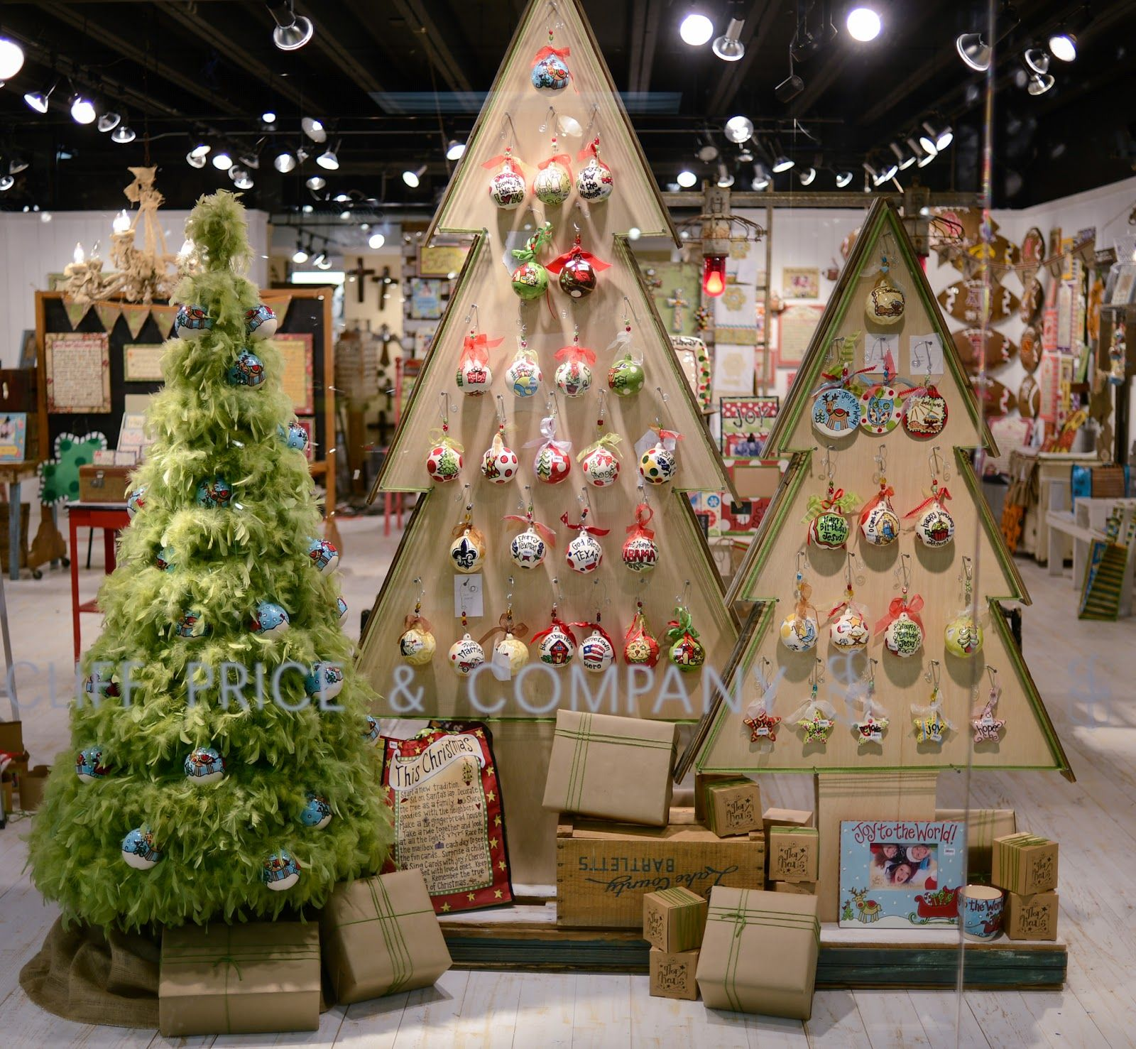 Christmas Ornament Display Stand