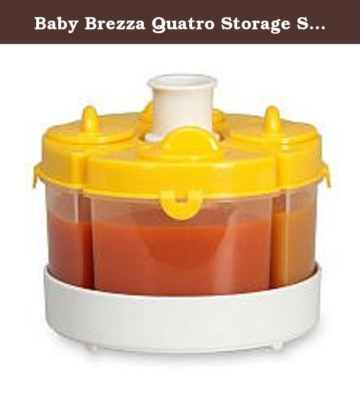 Baby Brezza Quatro Storage System Yellow He Baby Brezza