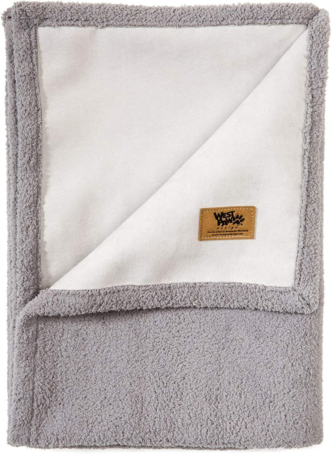 West Paw Big Sky Dog Blanket and Throw, Faux Suede/Silky