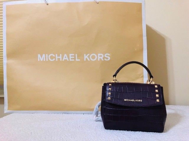 7d34221e467e Michael Kors Karla Mini Convertible Top Handle Embossed Leather Crossbody  Bag #fashion #clothing #shoes #accessories #womensbagshandbags ...