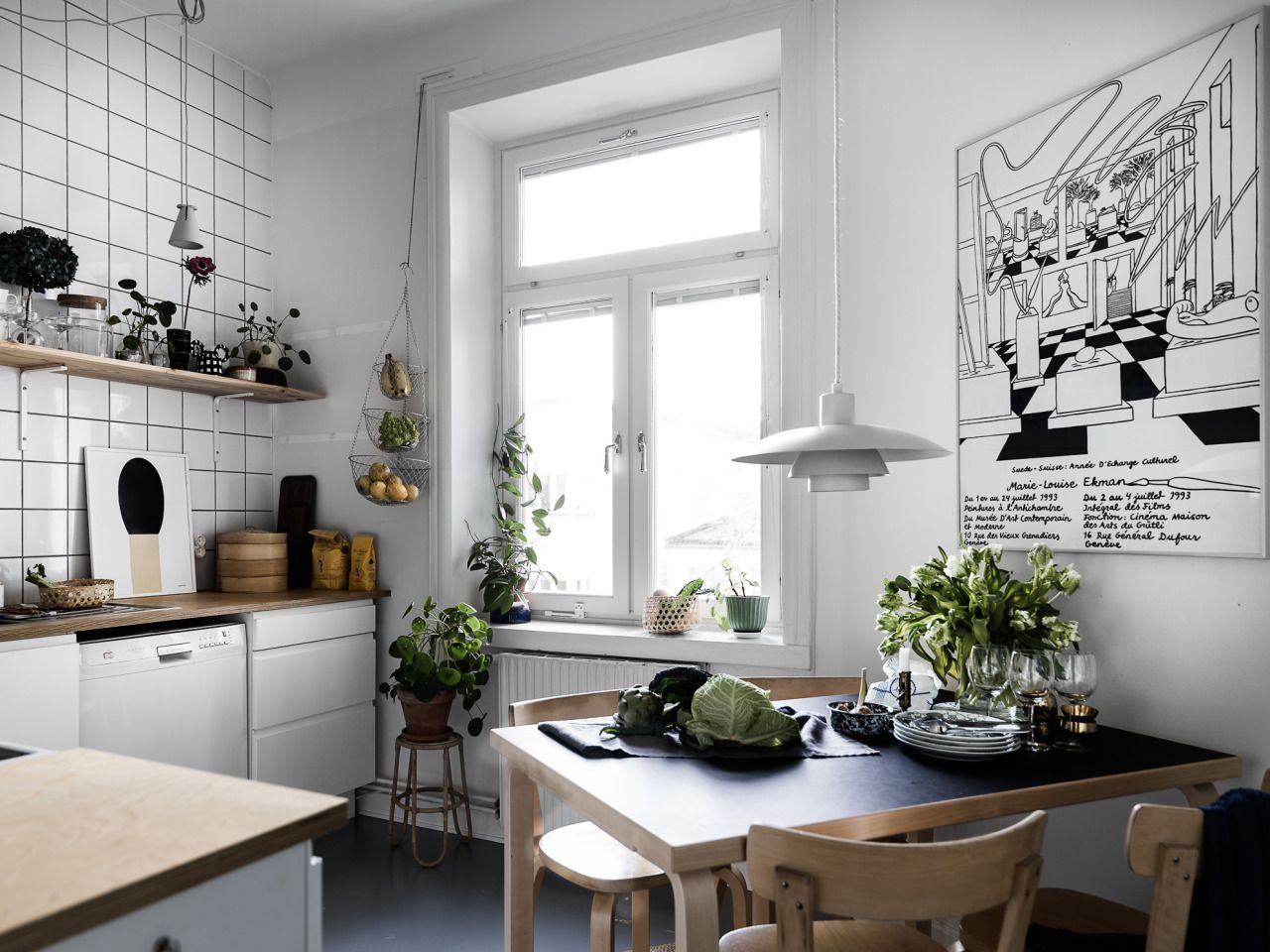 Small kitchen   Living room dining room combo, Farm house living ...