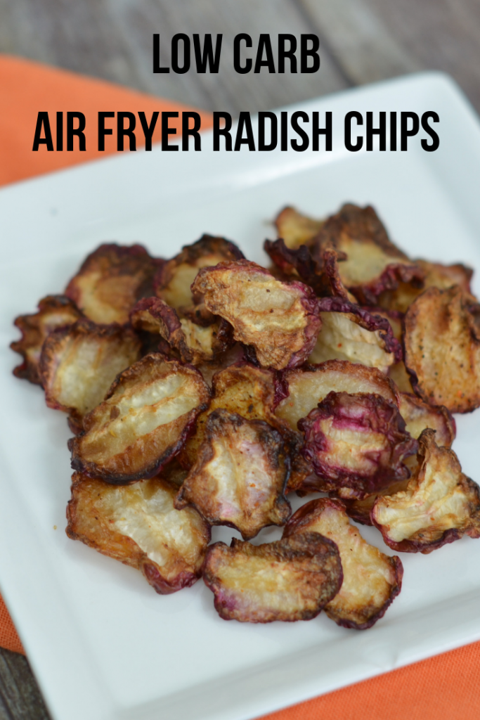 Low Carb Air Fryer Radish Chips (OVEN OPTION KETO FRIENDLY