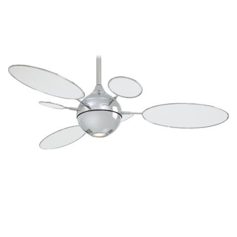 54 Inch Minka Aire Ceiling Fan With Light And Wall Control Cirque