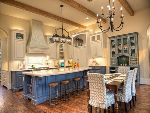 Beautiful #French Country #kitchen #cabinets are just one of the - French Country Kitchens