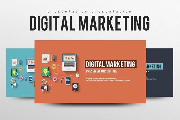 Digital Marketing by Good Pello on Creative Market | Best Template ...