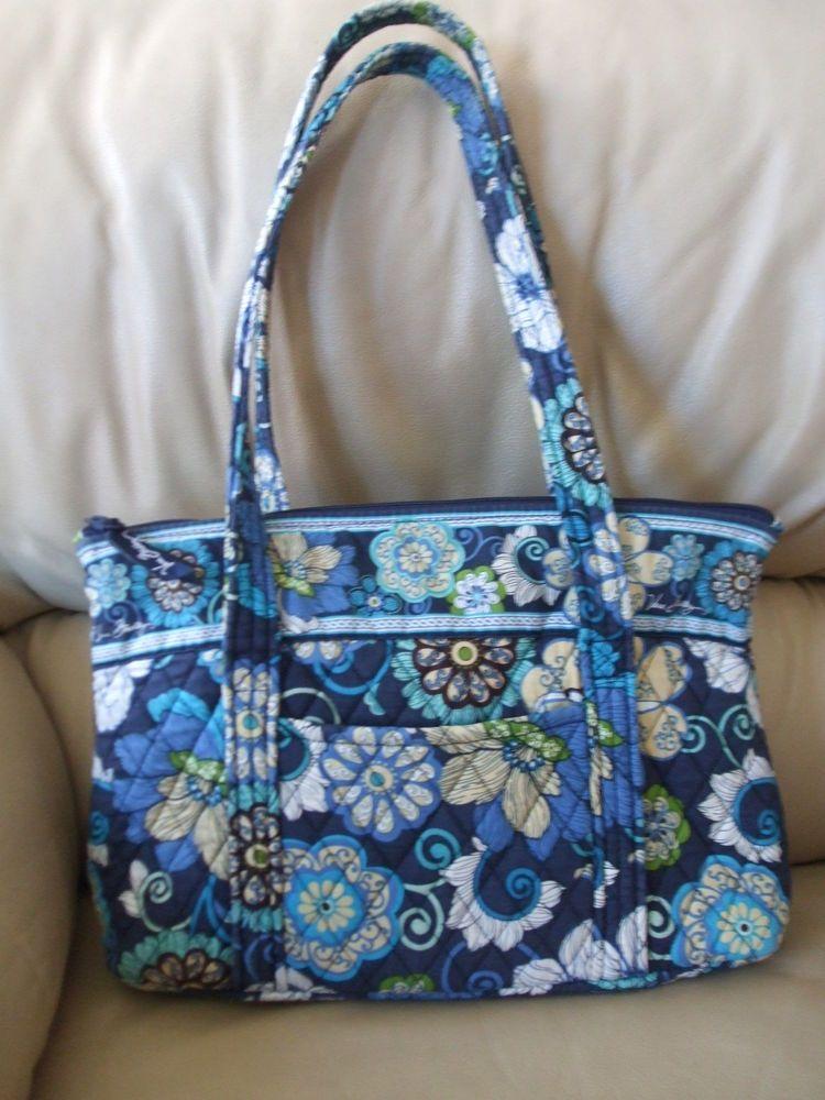 a80016c22430 Vera Bradley Villager tote in Mod Floral Blue (RETIRED COLOR)  VeraBradley   TotesShoppers