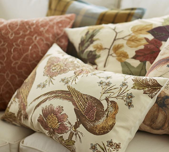 Pottery Barn Fall Pillows: 11 Ways To Add Fall To Your Home