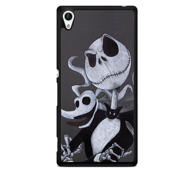 Jack Nightmare Before Christmas For Center Camera TATUM-5742 Sony Phonecase Cover For Xperia Z1, Xperia Z2, Xperia Z3, Xperia Z4, Xperia Z5