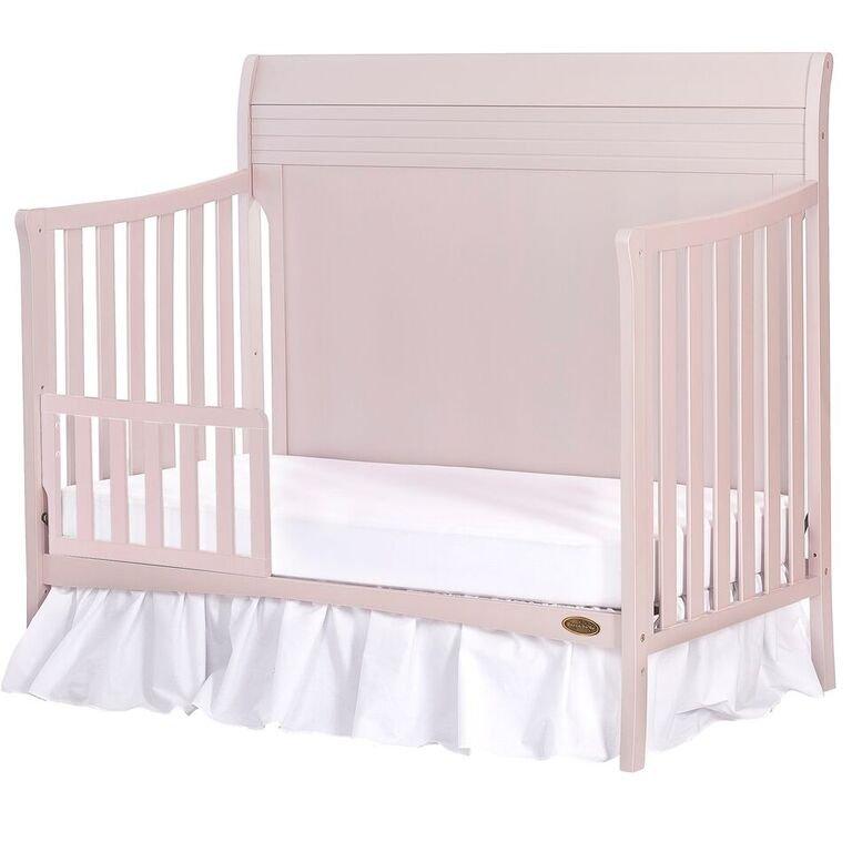 Blush Pink 5 In 1 Convertible Crib Bailey Convertible Crib Bed Frame Mattress Cribs