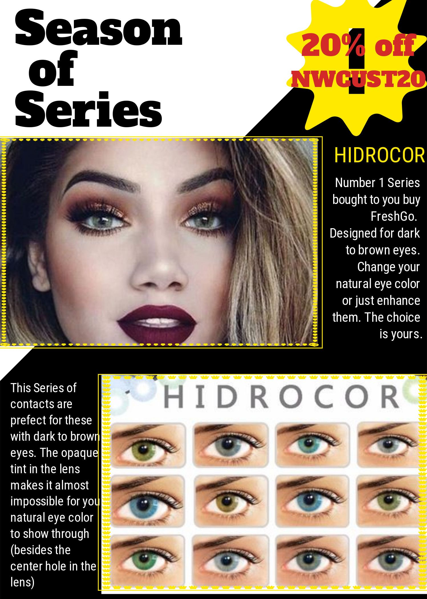 Freshlook color contacts color chart gallery free any chart examples freshlook color contacts color chart images free any chart examples contact lens color chart choice image nvjuhfo Image collections