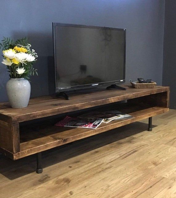Reclaimed Wood TV Stand/Cabinet 47cm High