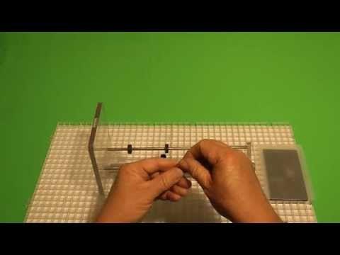 Aparato que permite cortar botellas de vidrio con precisión – OBJECTBIS – DISEÑO ECOLÓGICO CREATIVO