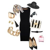 Luscious and sophisticated | www.myLusciousLife.com - Audrey style... FAB!