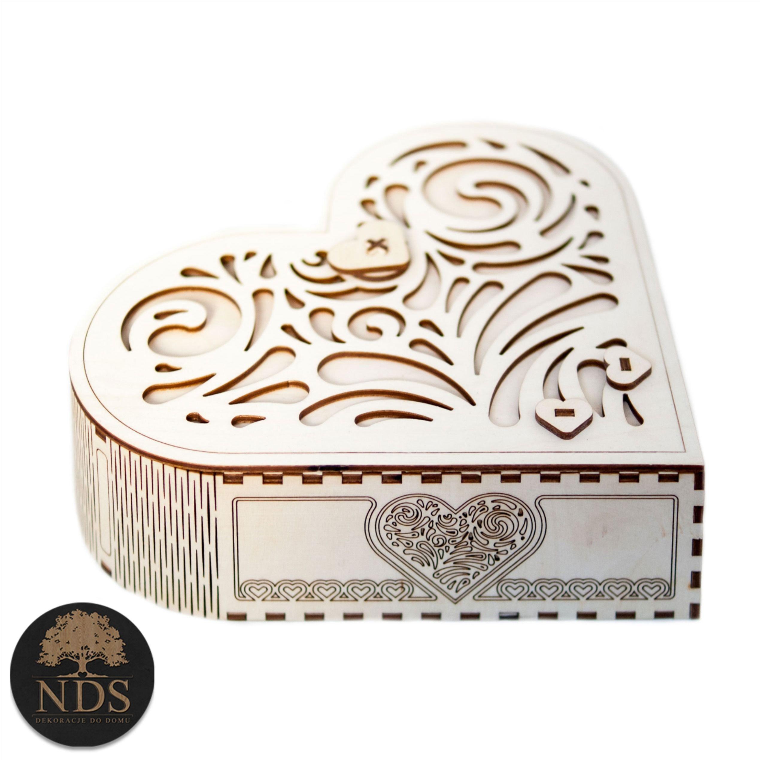 Duze Walentynkowe Pudelko W Ksztalcie Serca Slub Decorative Boxes Box Decor
