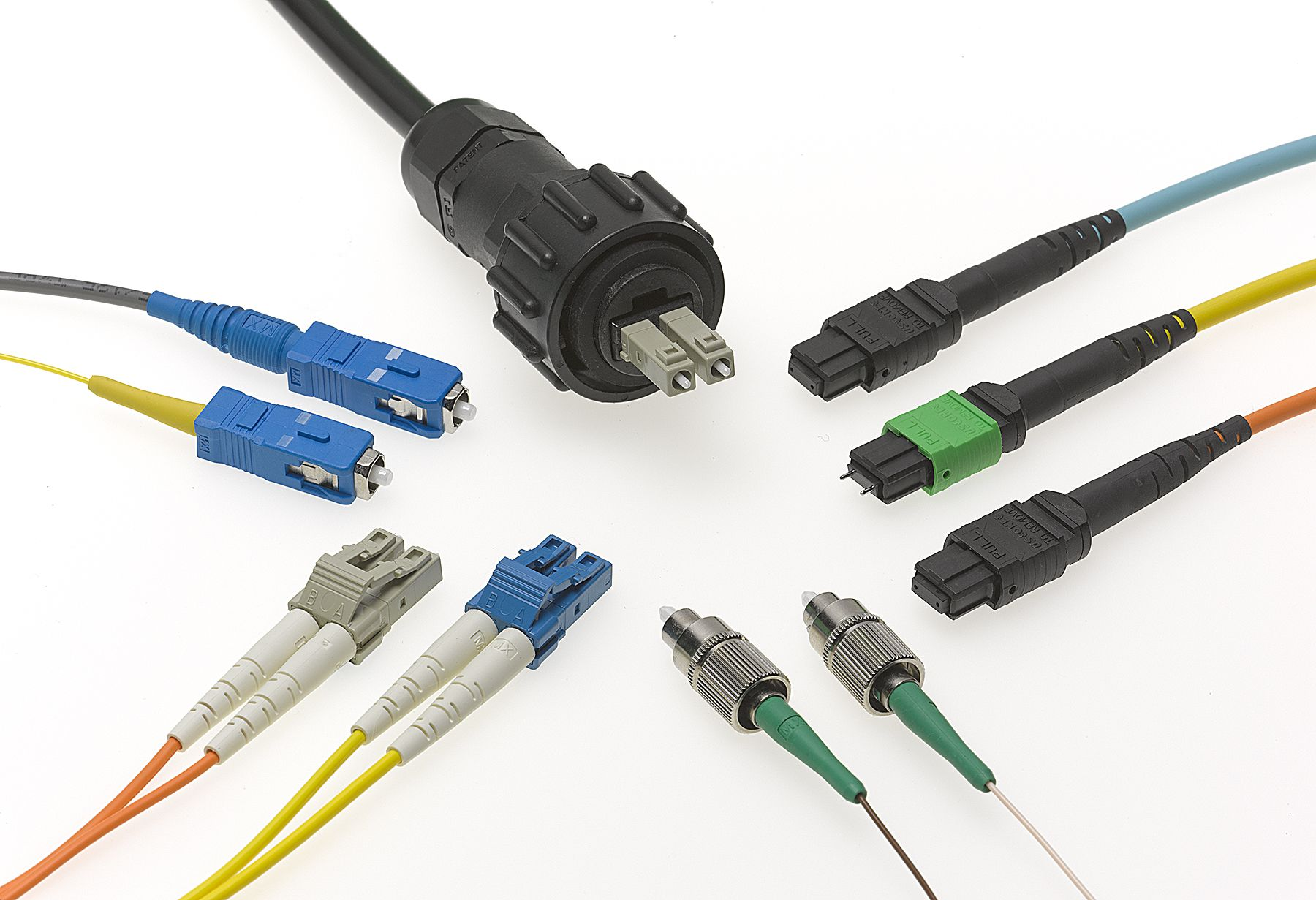 The Fiber Optic Cable Connectors Do Job Of Mating Or Connecting Wiring House For Optics With Optical Fibers Modules And Devices They Are One Key Components In