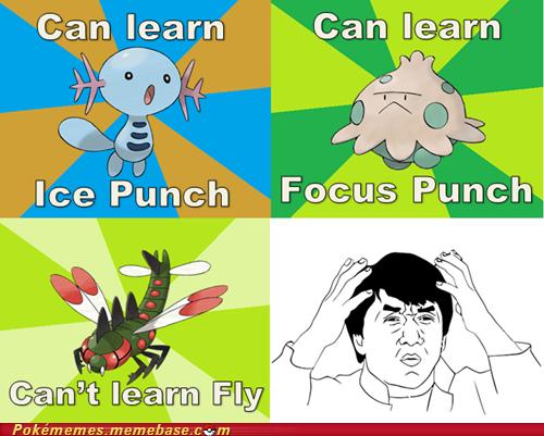 Moveset Logic Pokemon funny, Pokemon memes