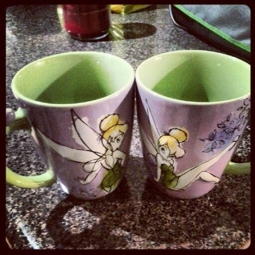 Super Cute Tink Coffee Mugs...Love Them! ✿