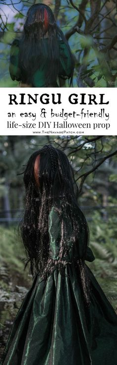 Ringu Girl - A Life-Size Scary Halloween Prop Pinterest Creepy - scary halloween props