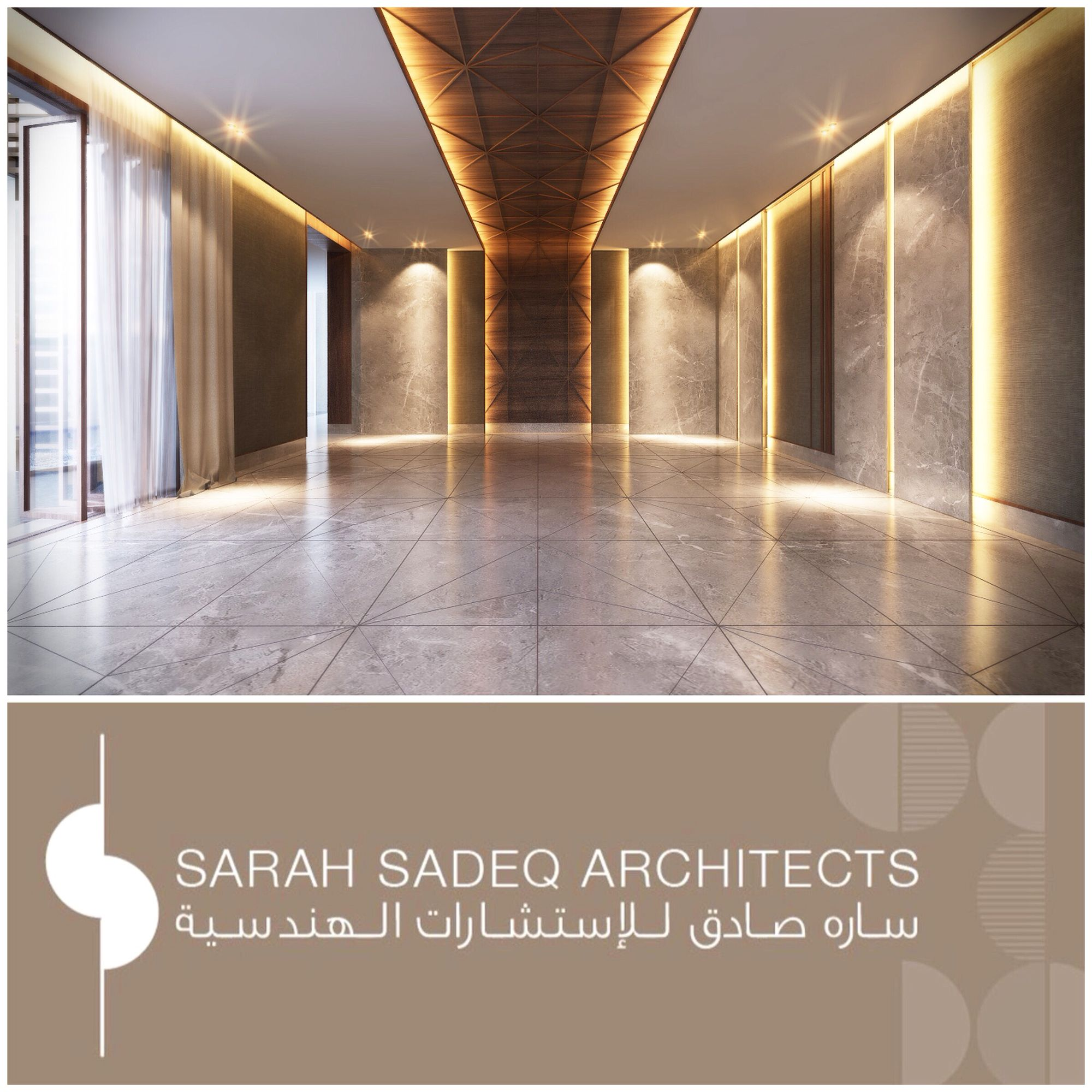 Private Villa Sarah Sadeq Architects Kuwait: Interior Private Villa 500 M Kuwait Sarah Sadeq Architects