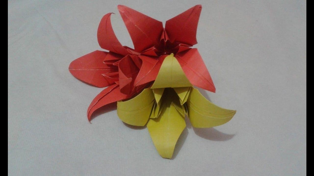 How to make amazing origami iris flower creative paper craft how to make amazing origami iris flower creative paper craft izmirmasajfo