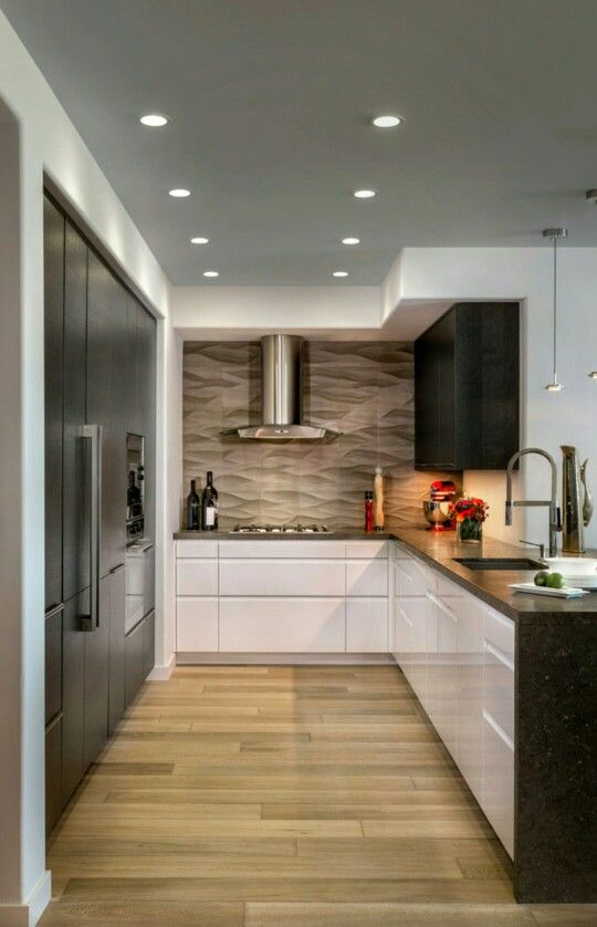 Backsplash is beautiful!! ○Houzz.com○   Kitchen Design   Pinterest