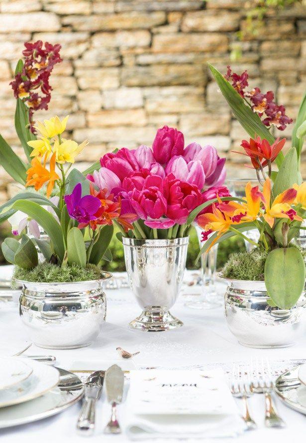 Um Jantar No Jardim De Inverno Arranjo Artistico Para Mesas