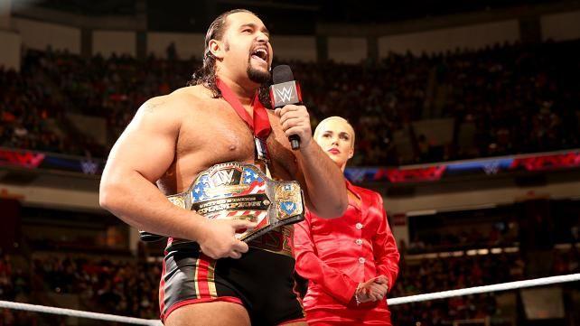 WWE United States Champion Rusev & Lana