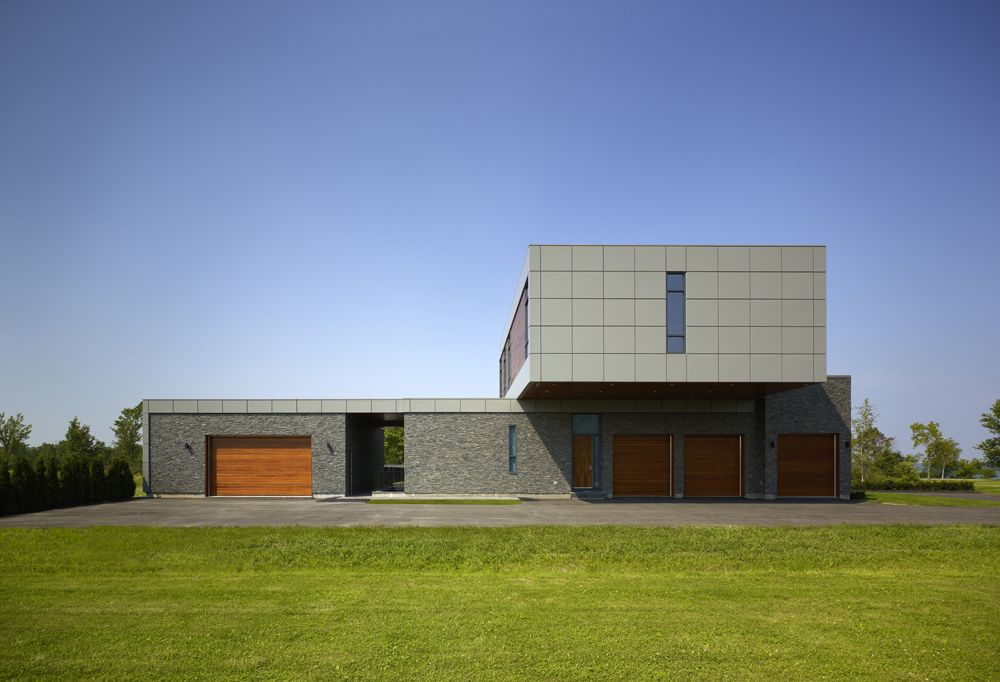 Riverhouse Niagara Zerafa Studio House Designs Exterior