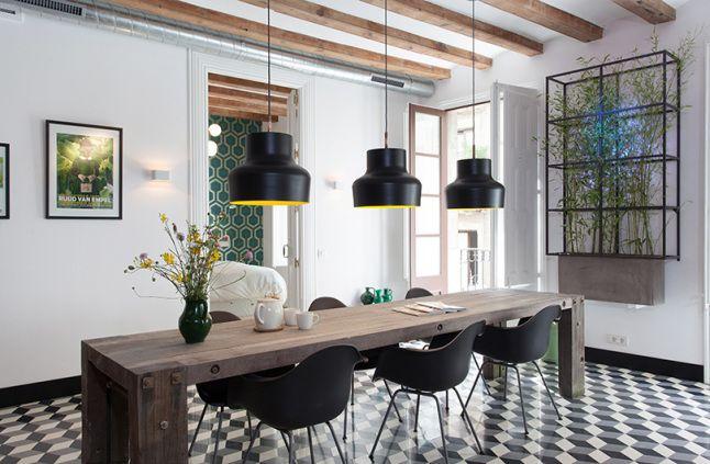 New Lampe Esstisch Apartment Interior Wohnwelten Wohnr ume Barcelona Speiser ume Wohnkultur Tabelle Die