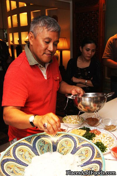 Chef Wan S Kerabu With Recipe And Video Prawn Mango Noodle Salad
