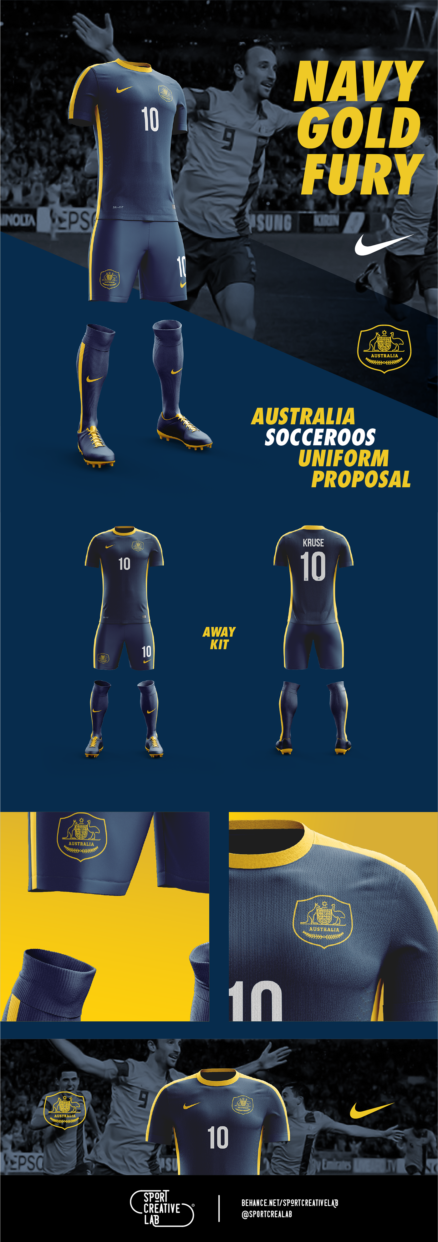 Playing uniform proposal for the Australian National