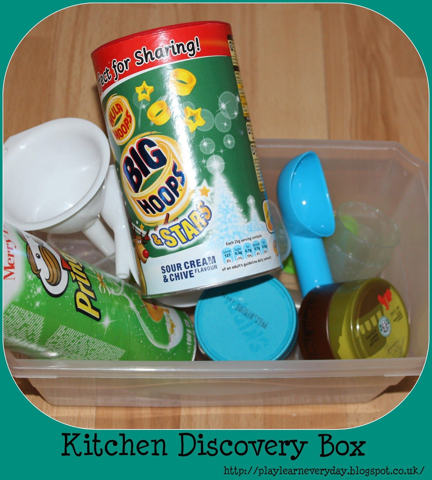 Kitchen Discovery Box | Toddler play