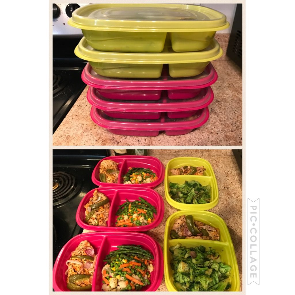 Meal Prep Items From Dollar Tree These Colorful Containers Make
