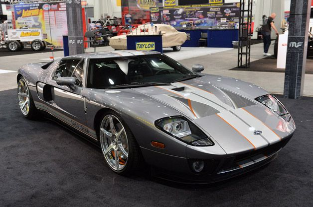 Chip Foose Tastefully Enhances His Personal Ford Gt With Images Ford Gt Chip Foose Foose