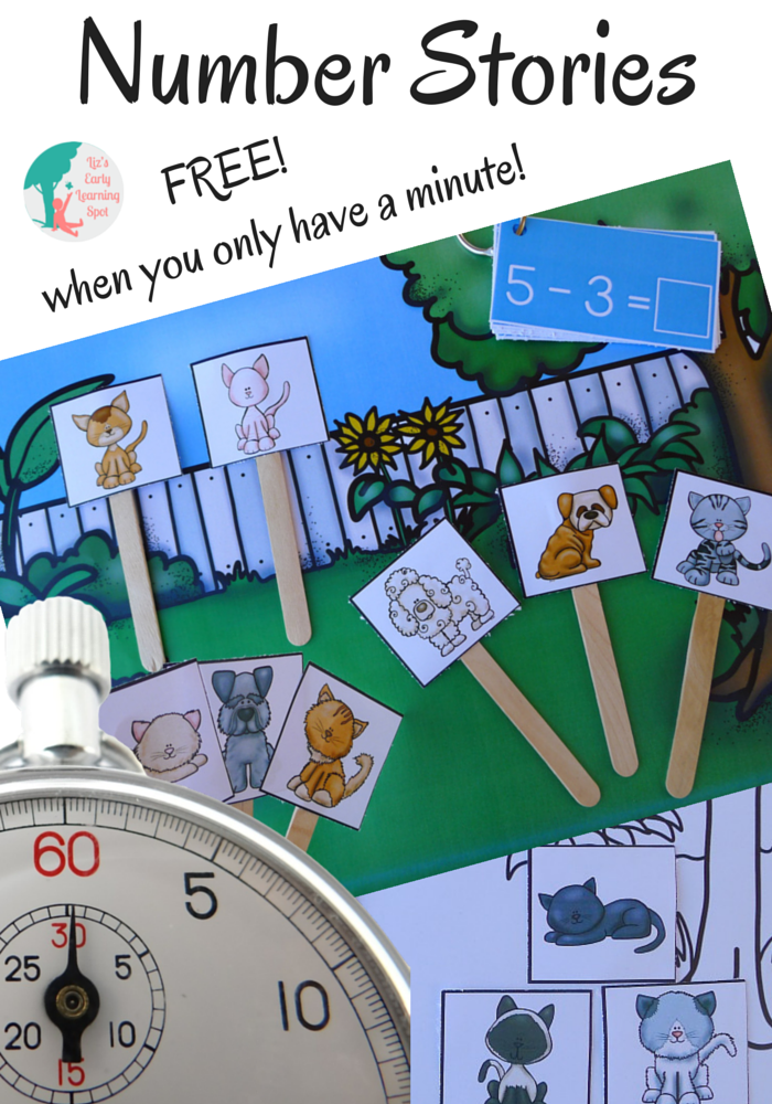 Tell each other unlimited number stories and get those math brains working!