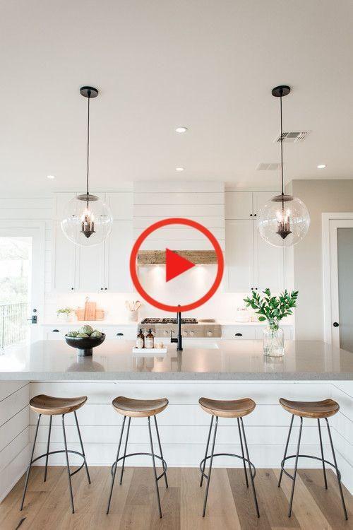 Moderne Shiplap-Ideen im Bauernhausstil - #Farmhouse #Ideas #modern #Shiplap #Style   - Kochen #wohnkultur