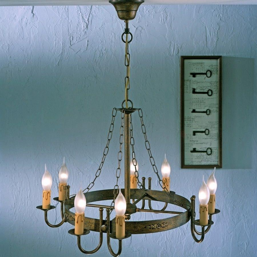 Rustik eight light chandelier lighting design pinterest rustik eight light chandelier nautical arubaitofo Images