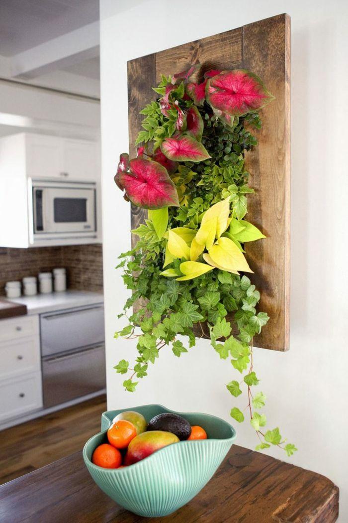 Deco Mur Originale ▷ 1001 + idées déco originales pour un mur végétal intérieur