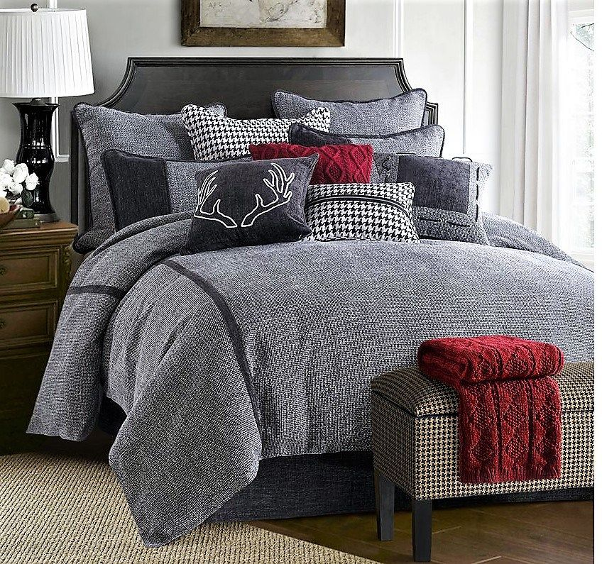Southern Creek Rustic Furnishings: Lost Creek Rustic Bedding Comforter Set