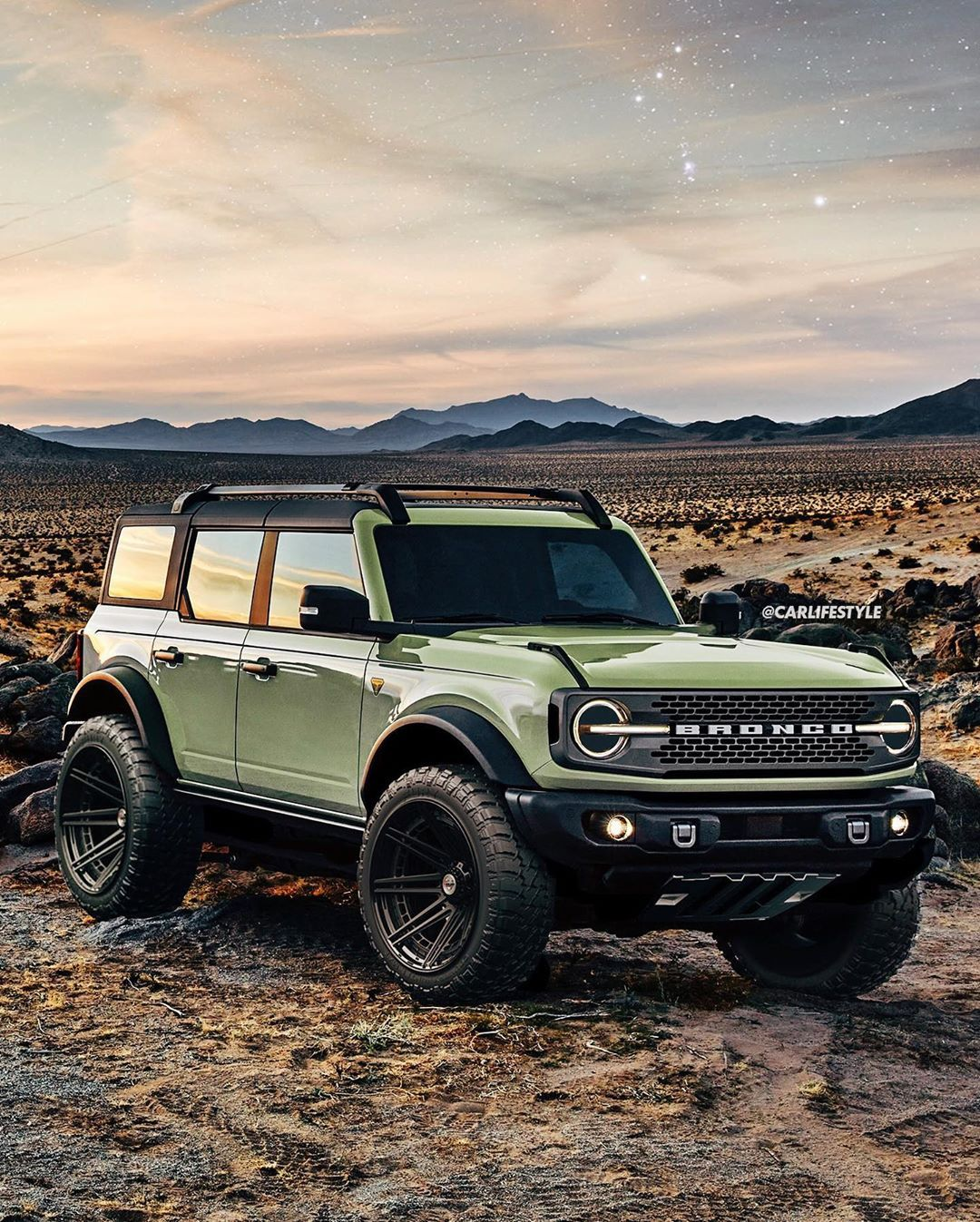 Carlifestyle On Instagram 2021 Ford Bronco Lifted On Some
