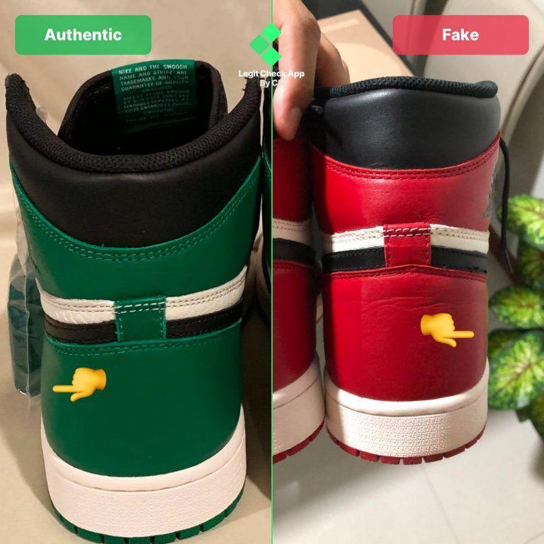 Air Jordan 1 Fake Vs Real Universal