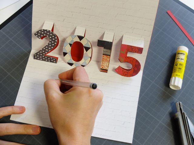 créer une carte de voeux Créer une carte de vœux pop up Plus | Cartes de noël pop up, Carte
