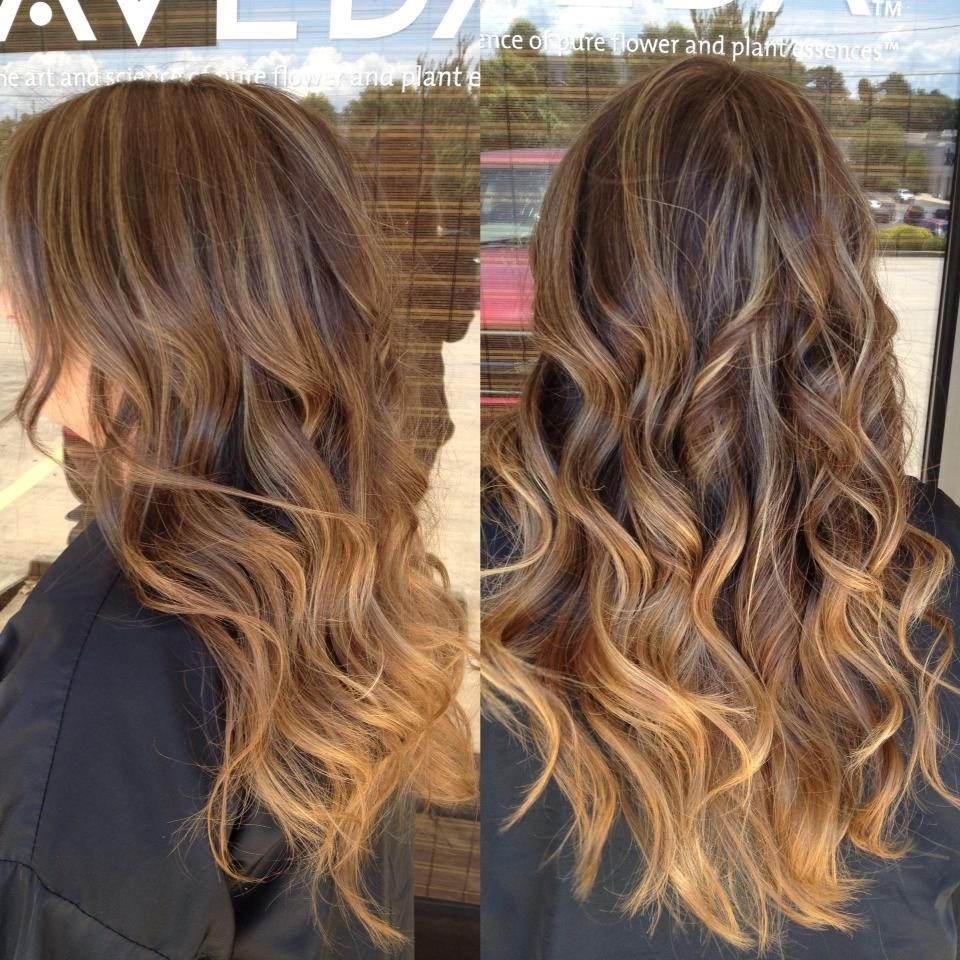 Yay my hair is getting long again im doing something like this if i get the nerve to dye my hair caramel ombr with balayage on brunette hair solutioingenieria Gallery