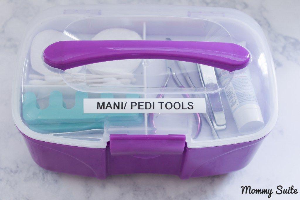 Nail Care Organization | Crazy for DIY | Mobile nail salon, Nail ...
