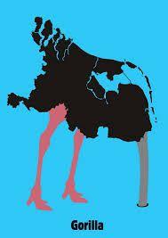 Gorilla struisvogel