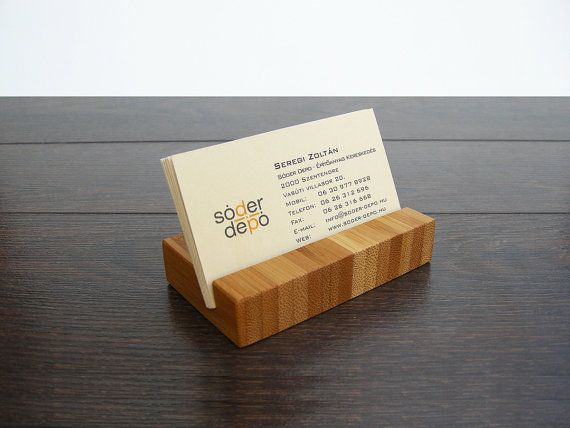 Elegant simple and natural are the marks of this bamboo business shop for business card holder on etsy the place to express your creativity through the buying and selling of handmade and vintage goods reheart Choice Image