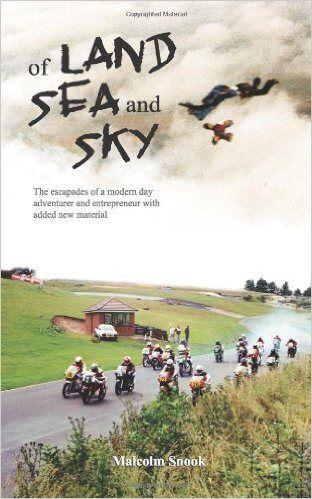 #Promocave Books Of Land, Sea And Sky by Malcolm Snook @sailorsnook Author Malcolm Snook has been an explorer and climber, skydiving instructor, car and motorcycle racer, advertising agency owner, swing dancer, actor and long distance sailor.