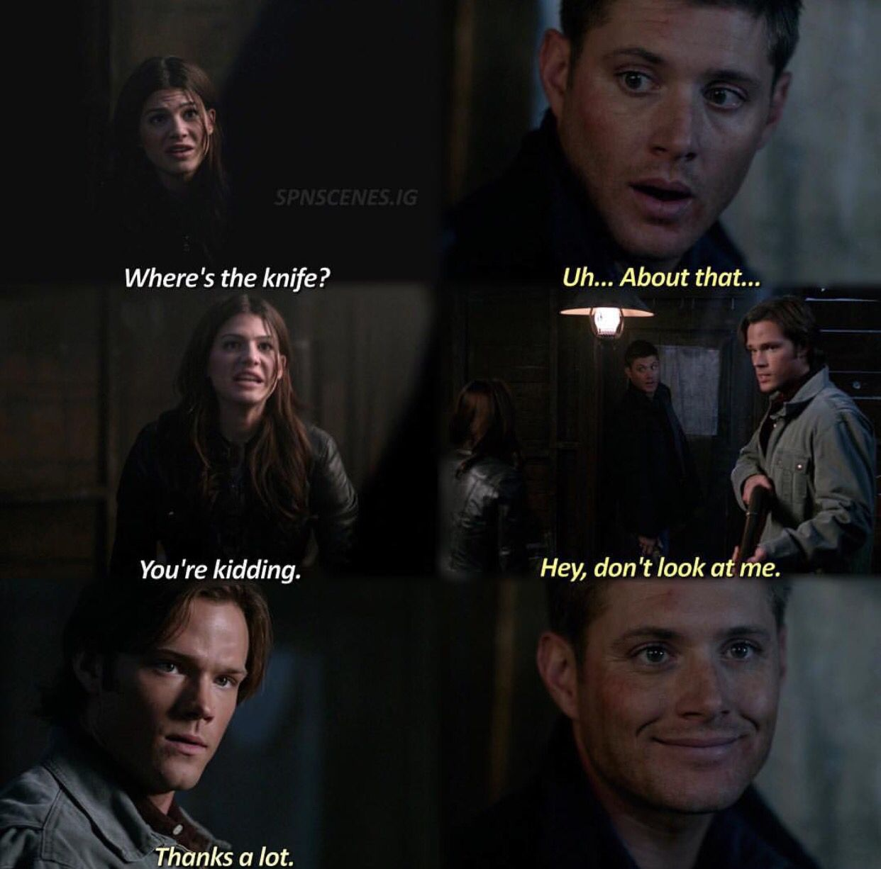 4x09 I Know What You Did Last Summer Supernatural