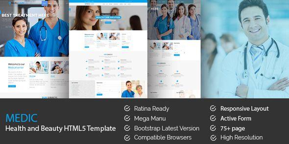 MediC v1.0 - Health / Medical HTML5 Template  -  http://themekeeper.com/item/site-templates/medic-health-medical-html5-template