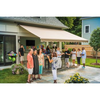 Sunsetter® Manual, Motorized and XL Retractable Awnings ...